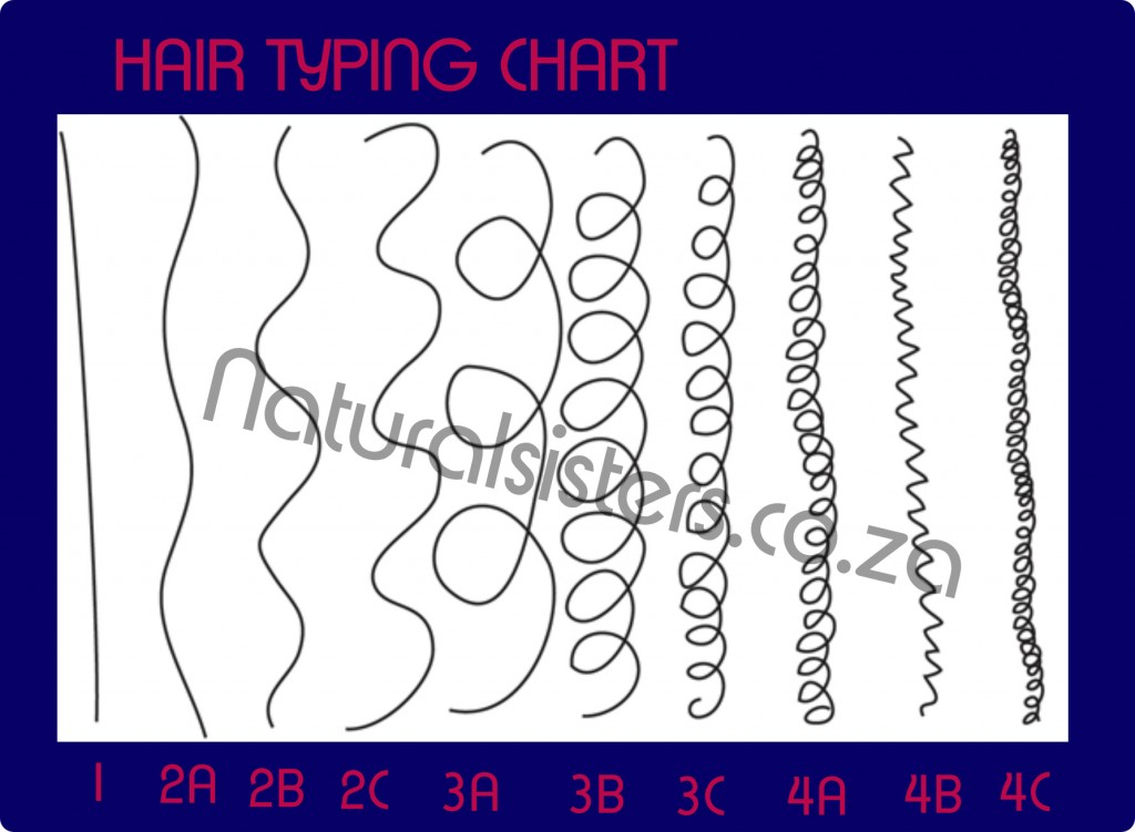 HAIR TYPING CHART