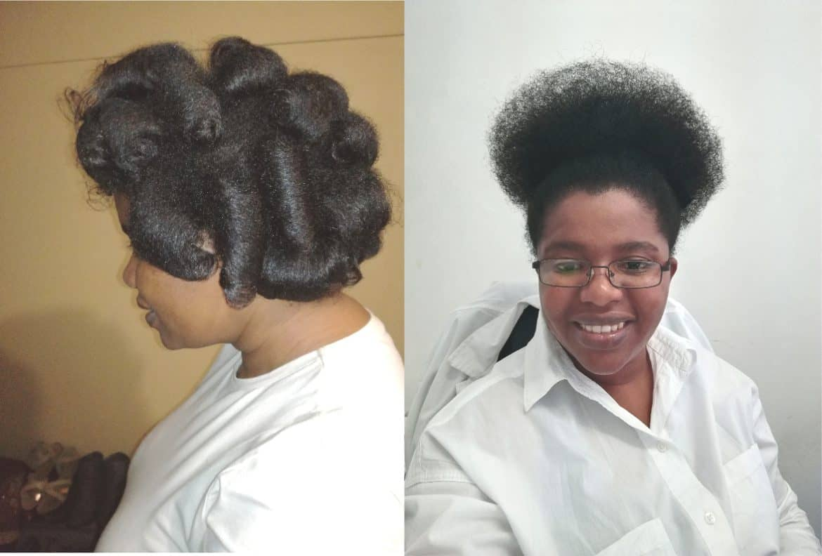 Hairstyles Natural Sisters South African Hair Blog
