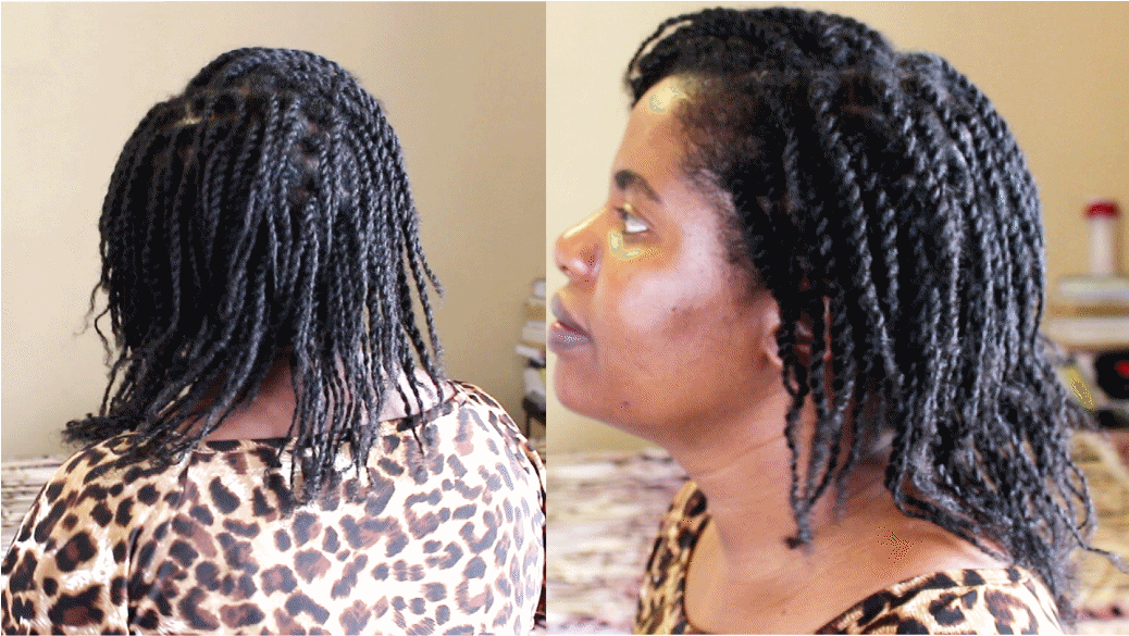 How To Do Mini Twists On Natural Hair Natural Sisters South African Hair Blog