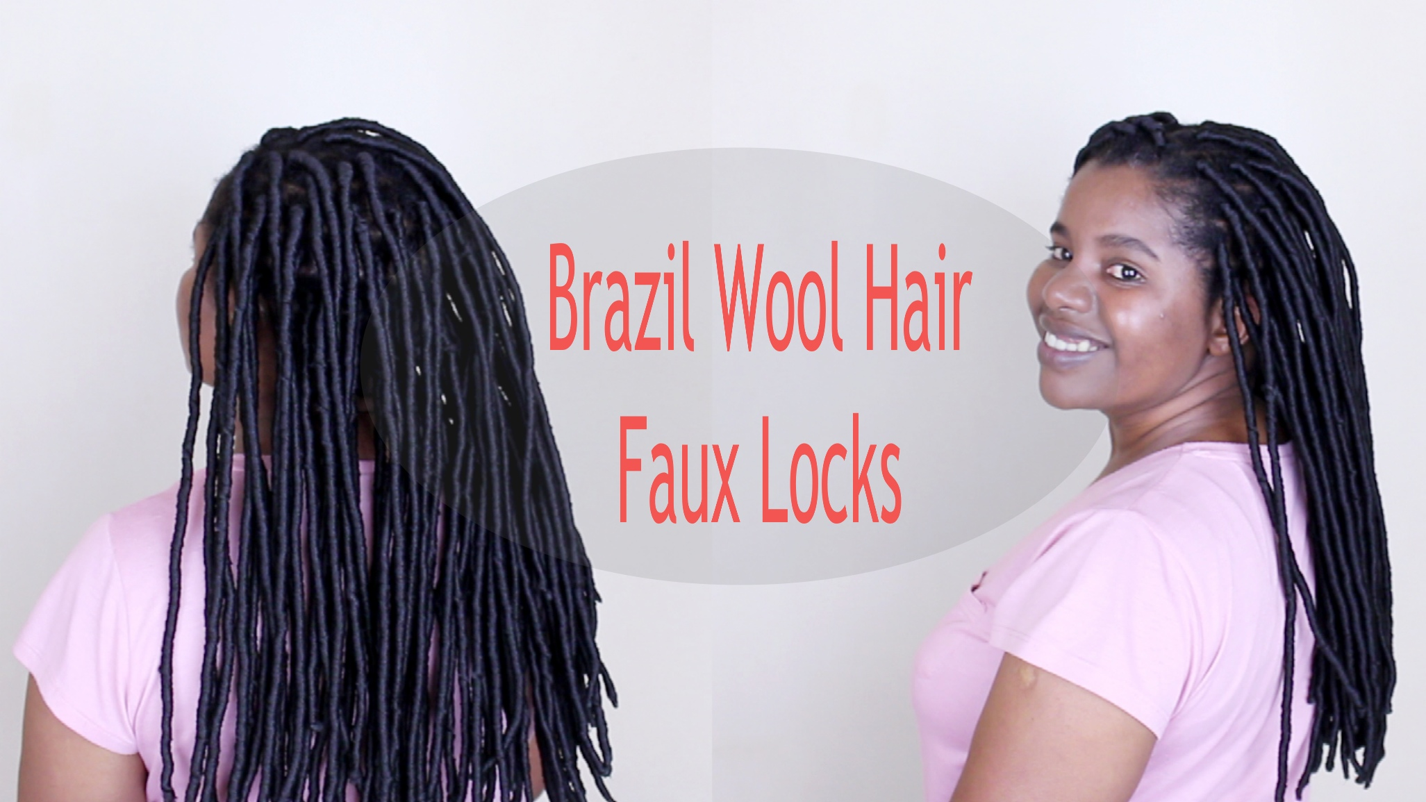 How to: Faux Locks with Brazilian Wool  Natural Sisters - Faux Locs Hairstyles