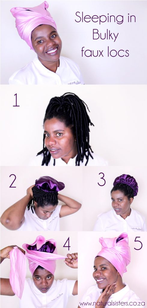 faux locs maintenance