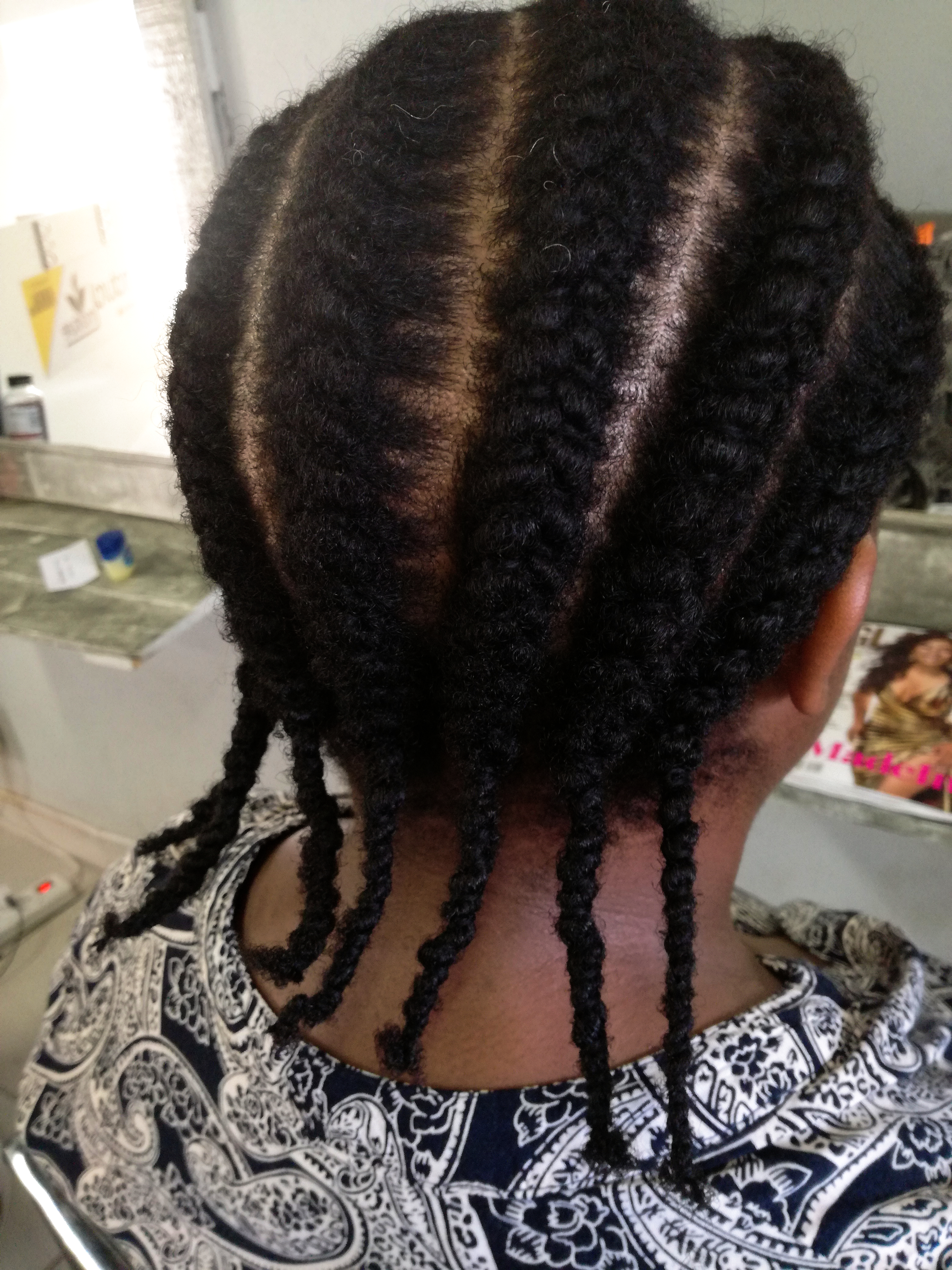 Needle And Thread Cornrows Natural Sisters South