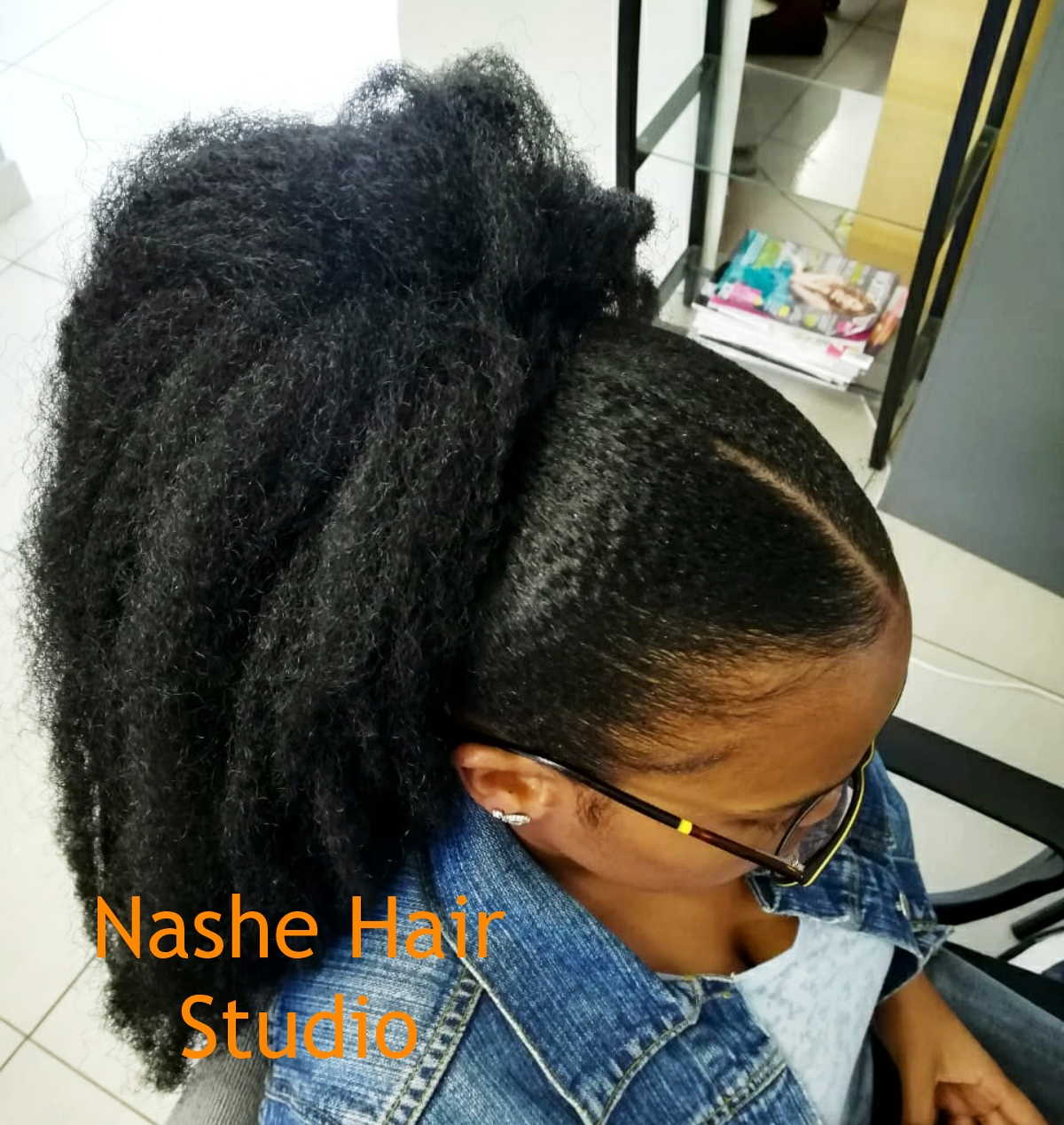 Trending Natural Hairstyles This Spring At Nashe Hair Studio Natural Sisters South African Hair Blog